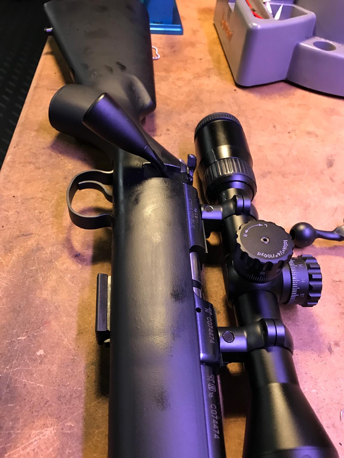 Extended bolt handle for CZ455? | Sniper's Hide Forum