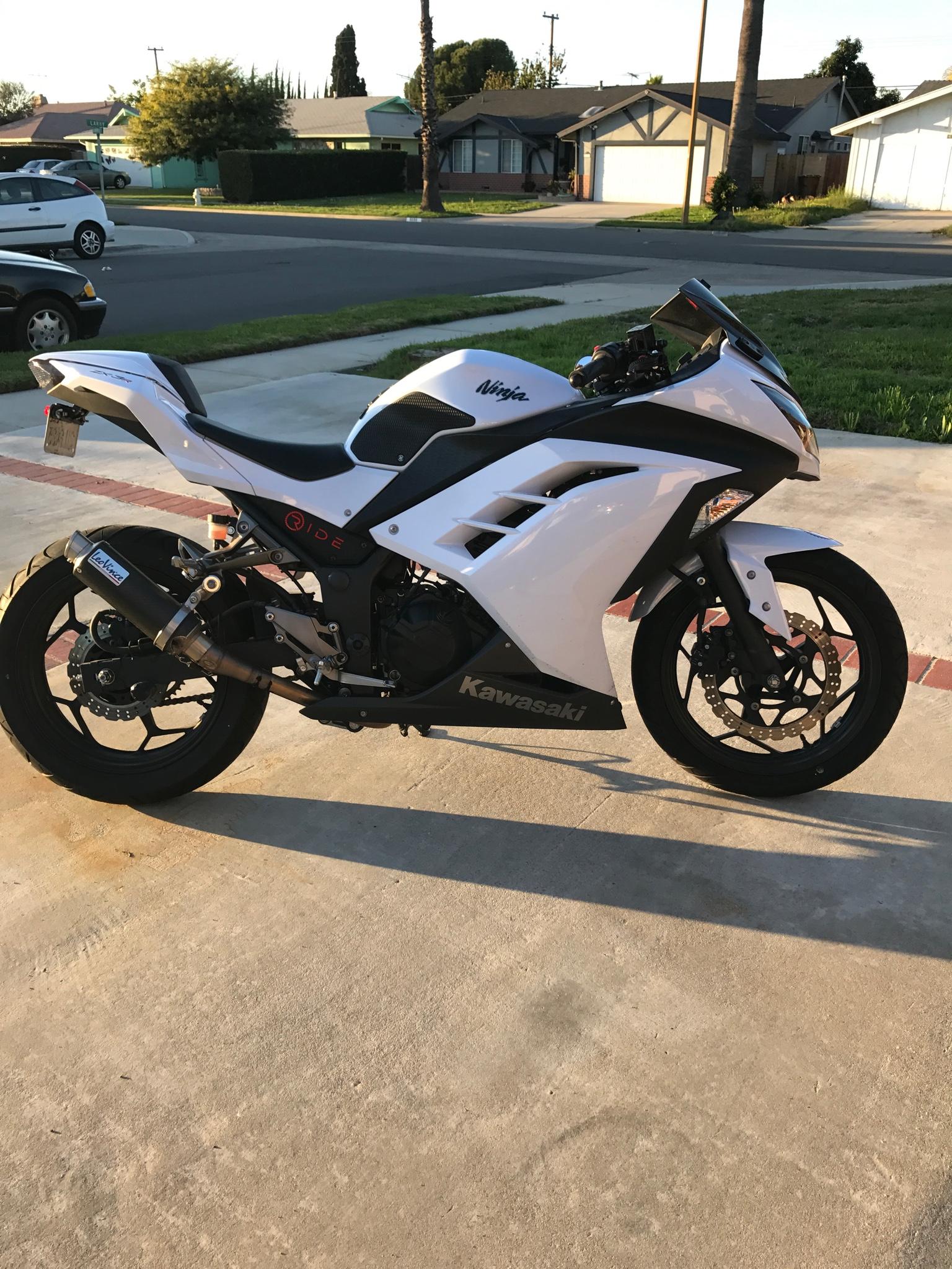 Official pearl stardust white kawasaki ninja 300 picture thread page 47 kawasaki ninja 300 forum - Ninja 300 forum ...