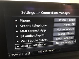 S Audi Connect - Audi connection
