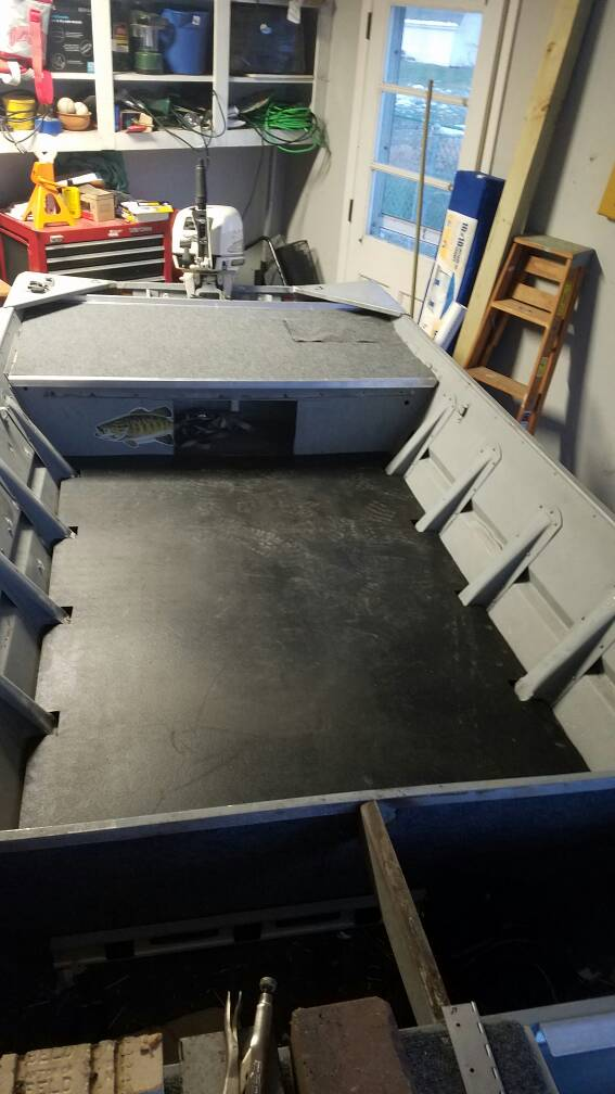 Duck Hunting Chat Neat Idea For A Jon Boat Floor Waterfowl Boats