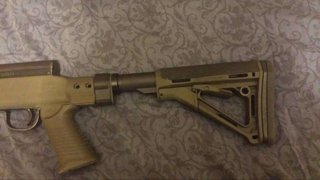 Pearce Armoury (Canada) Tapco t6 to m4 stock adapter for sks