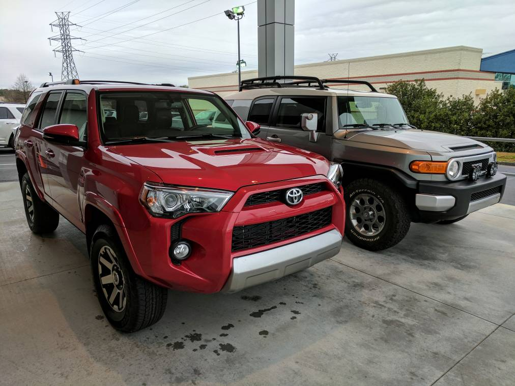 barcelona red 4runners let 39 s see them page 19 toyota 4runner forum largest 4runner forum. Black Bedroom Furniture Sets. Home Design Ideas