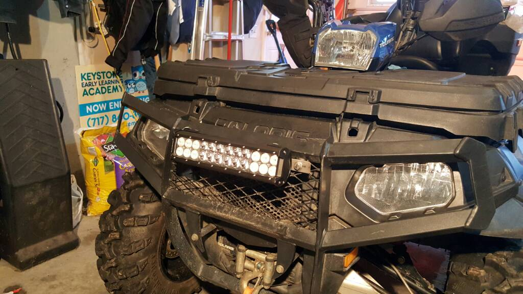 Auxbeam 12 Quot Light Bar Install On Guru Bumper Page 2