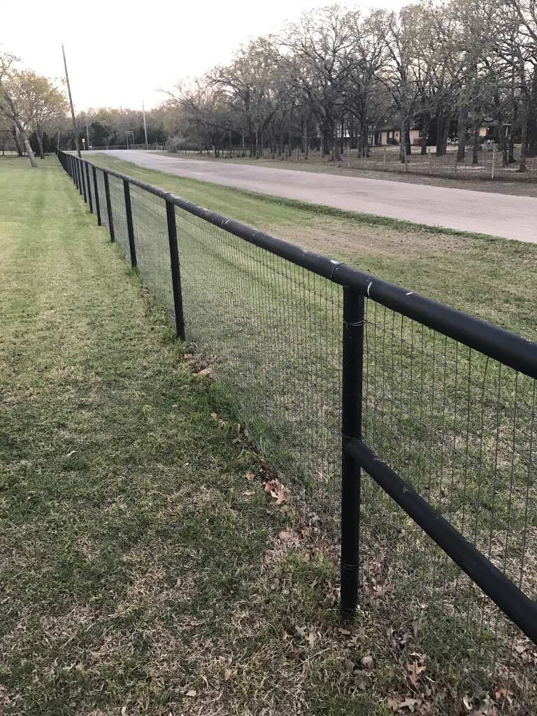 Best Paint Application Method For Pipe Fence Texasbowhunter Com Community Discussion Forums