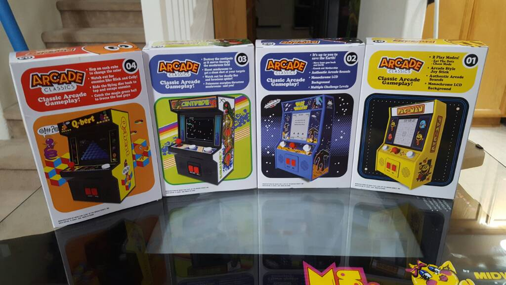 Just Scored These At Wal Mart Arcade Classics Museum Of The Game Forums