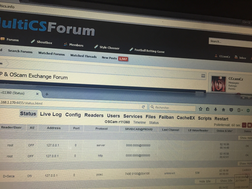 MultiCS & CSP & OScam Exchange Forum