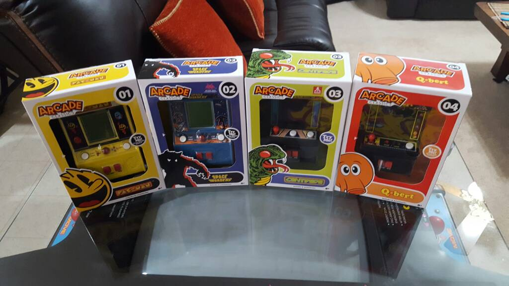 Just scored these at Wal-Mart. ARCADE CLASSICS - KLOV/VAPS Coin-op ...