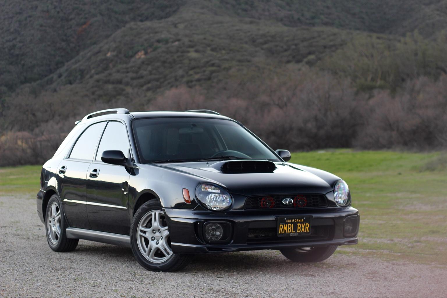 Fs For Sale Ca 2002 Wrx Wagon Midnight Black Pearl Nasioc