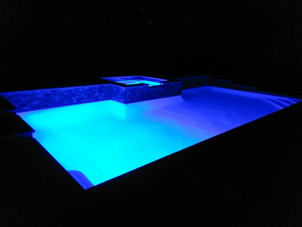 Led pool light roundup just put in the pentair intelli led lights one in the pool and one in the spa each independently controlled they look awesome greentooth Gallery
