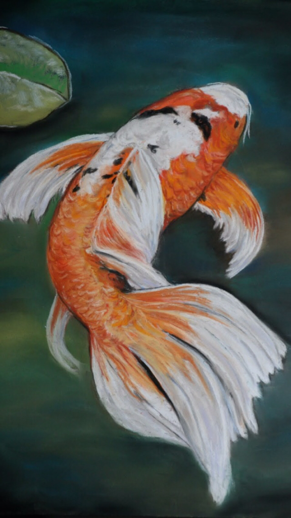 Making my 2nd tail pic heavy for Koi fish tail