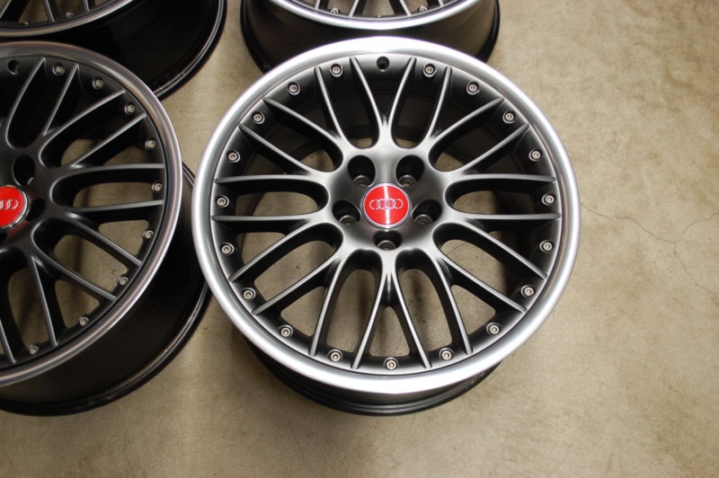 BBS Speedlines - What colour? | Audi-Sport.net