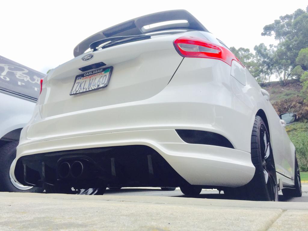 Focus St Wheels >> Loder Rear Diffuser - Review