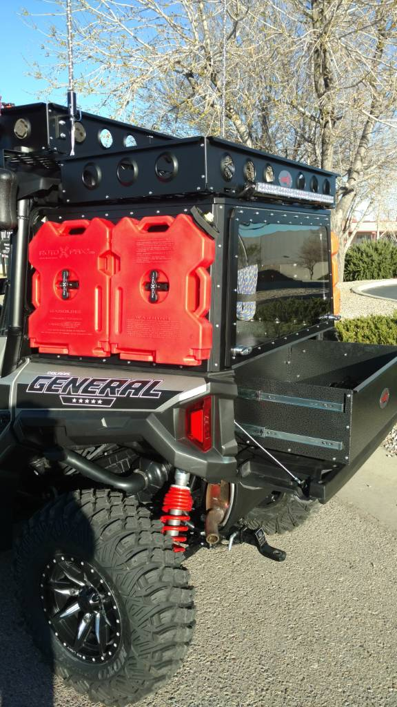 Polaris General 4 Seater >> **The General 4 seater Expedition /Recovery build ...