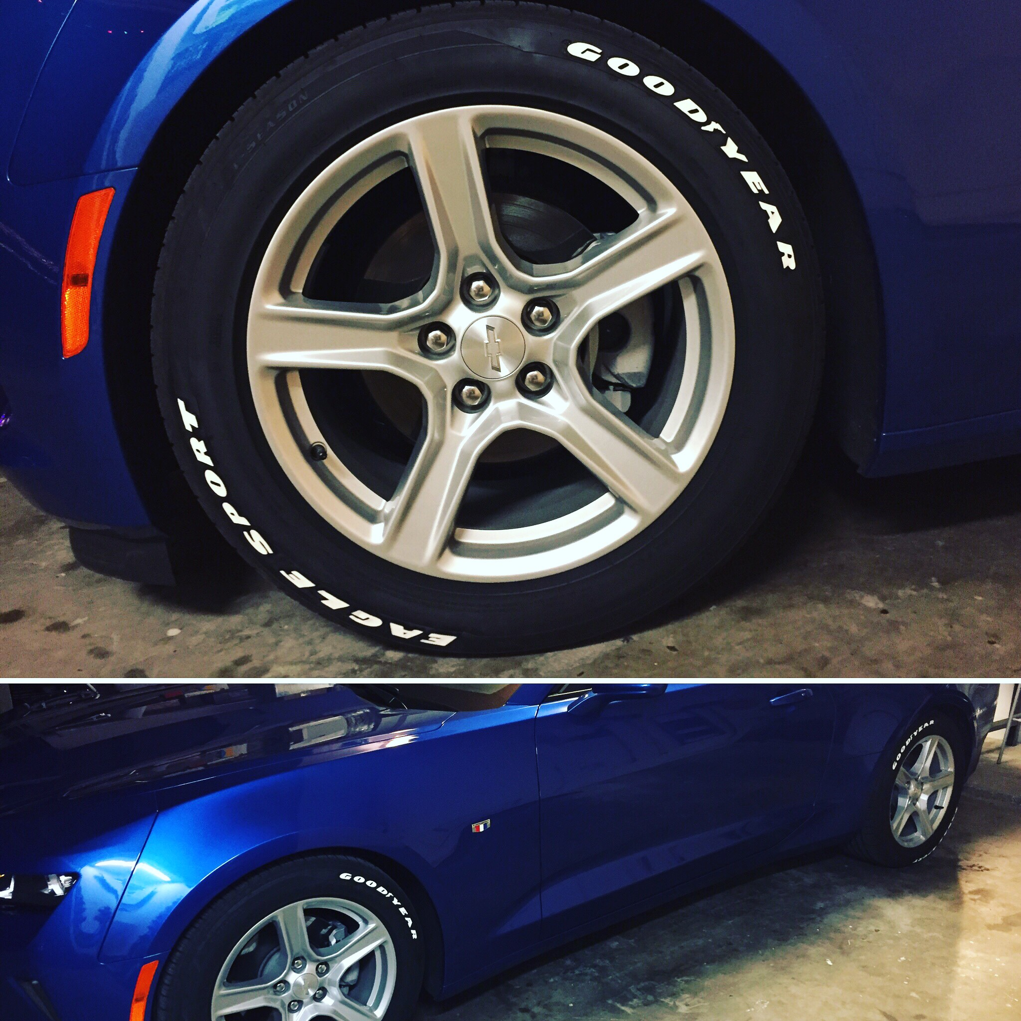 Best route for white lettering on tires Page 5 CAMARO6