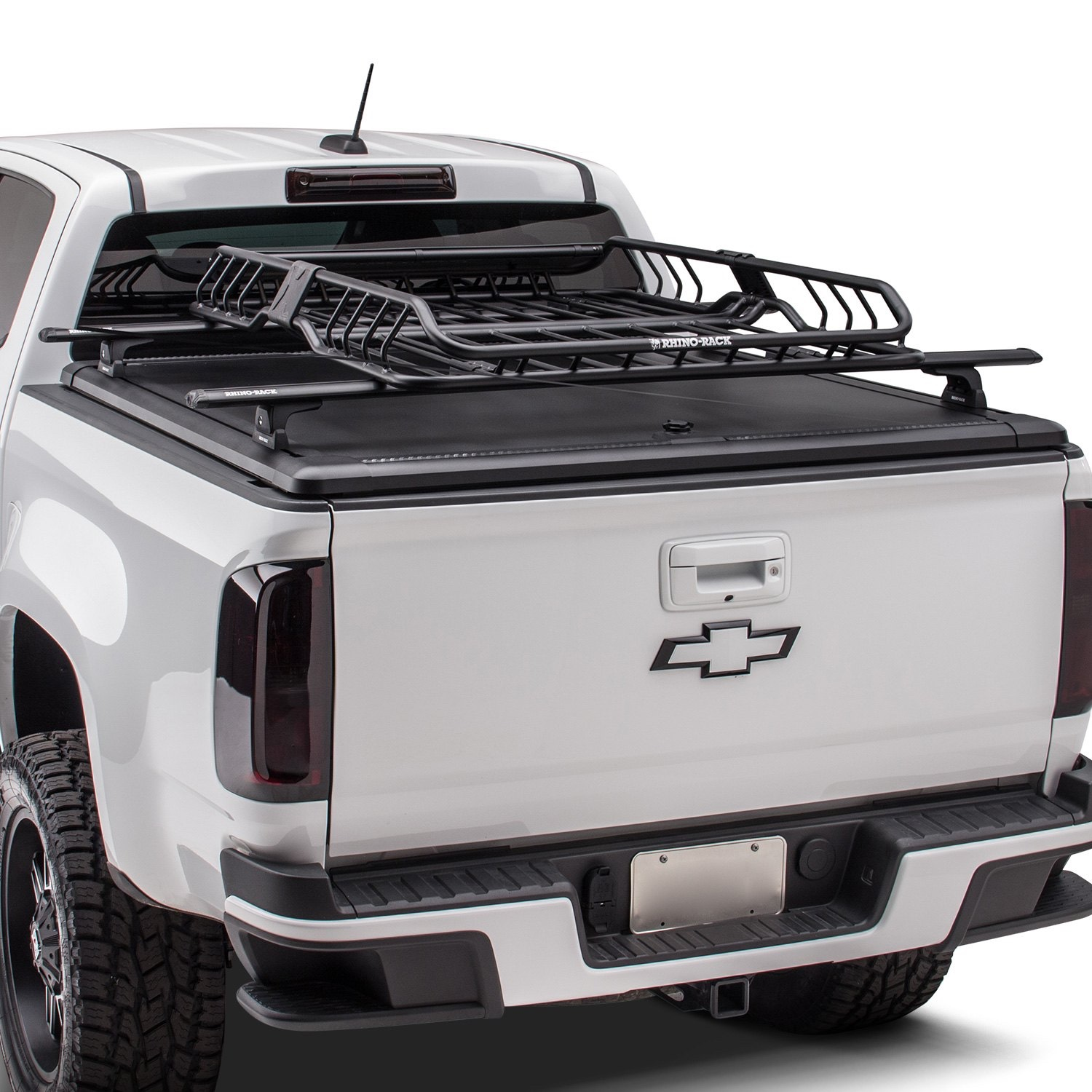 Mounting Thule Yakima Tracks On Bed Rails Chevy Colorado