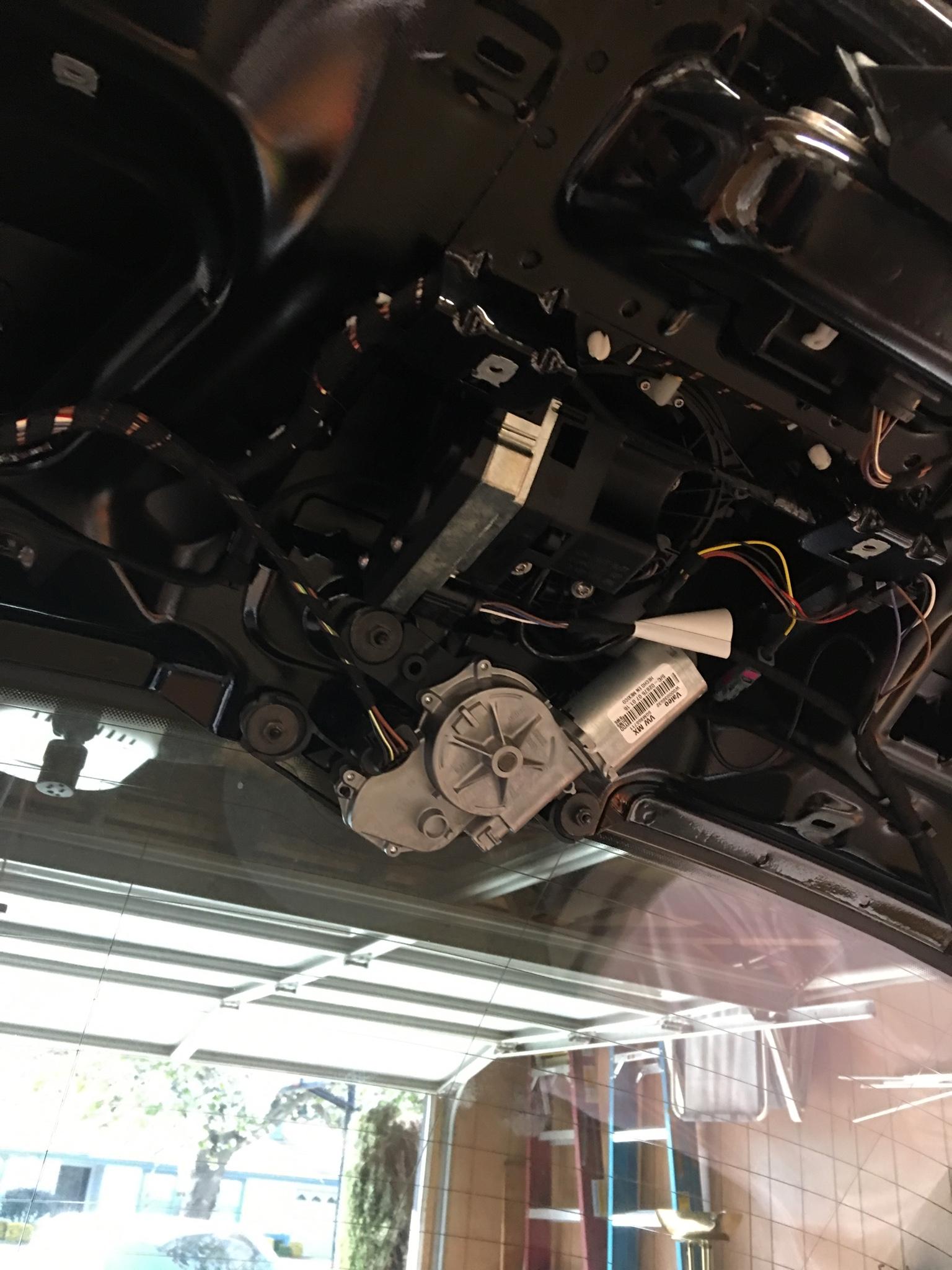VWVortex com - Golf OEM Rear View Camera Retrofit Success!