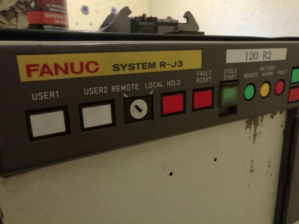 Fanuc programming manual Rj3 Error
