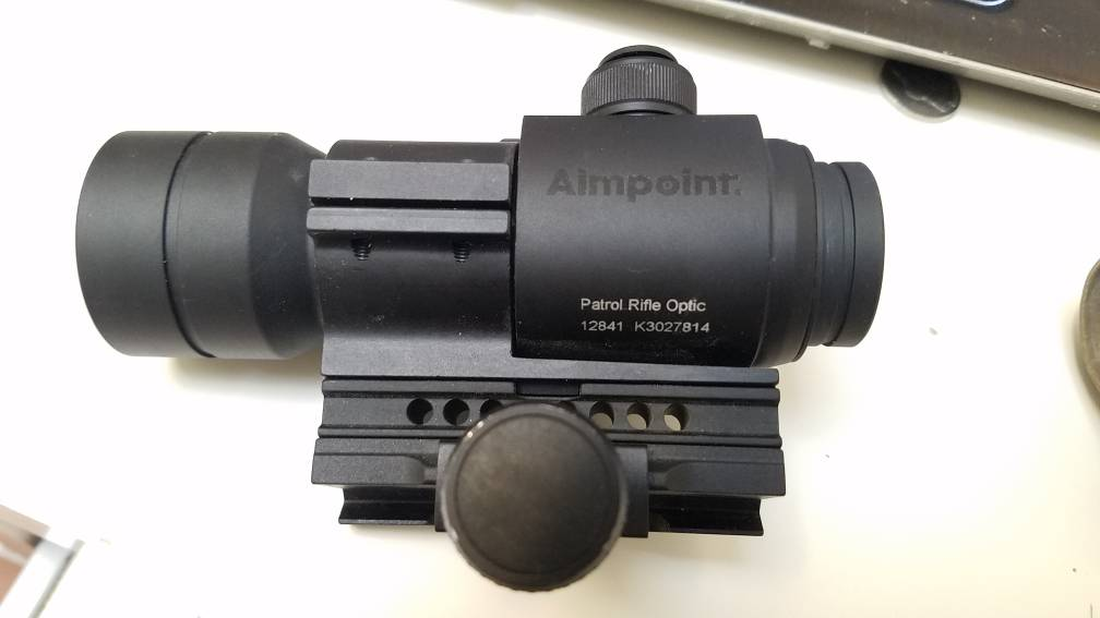 Ship Or Transfer Aimpoint Pro With Rubber Fde Cover