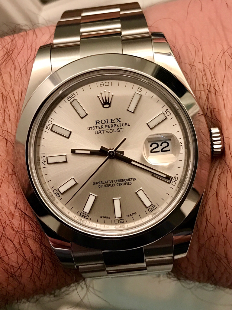 aa573d79f97 Is the Datejust II discontinued?