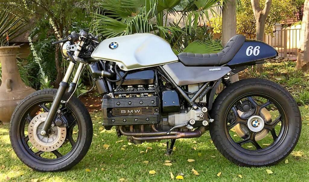 bmw k100 hiding the battery rh caferacer net BMW K100 Motorcycle BMW K100 LT 1987