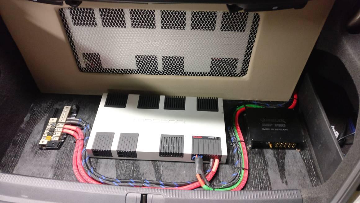 VWVortex com - Any Ideas to mount a Clarion EQS755 Equalizer?