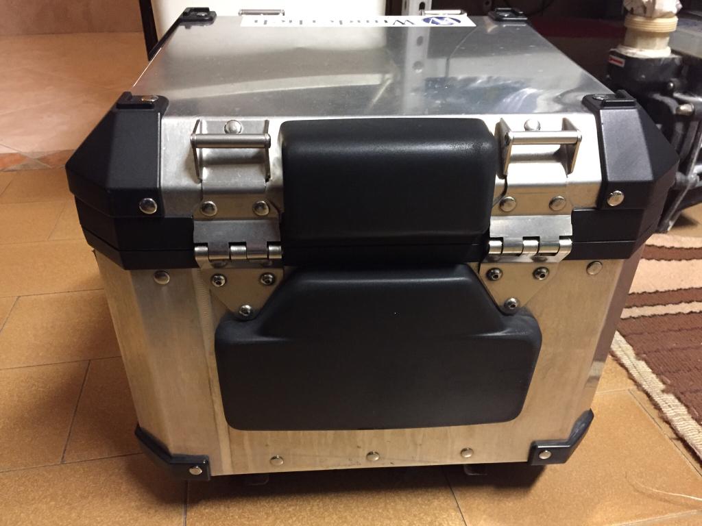 Bauletto topcase alluminio bmw r1200gs adv fino al 2012 for Mercatino dell usato siracusa