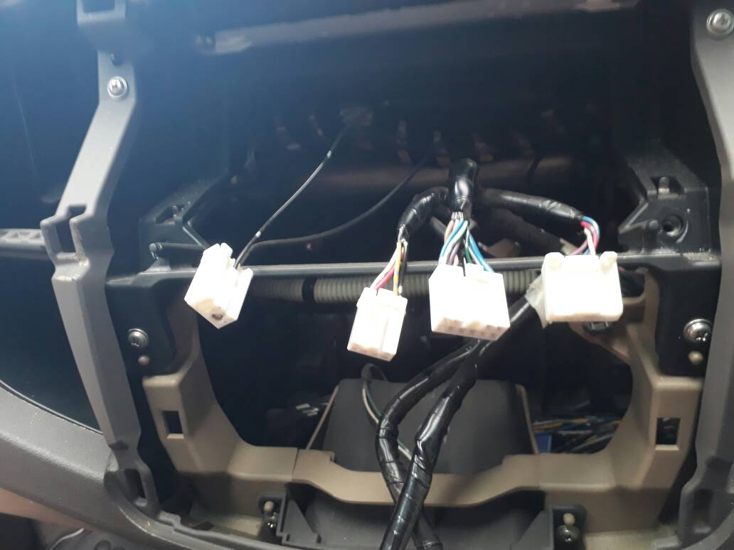 Fortuner 2009 Fortuner Radio Replacement