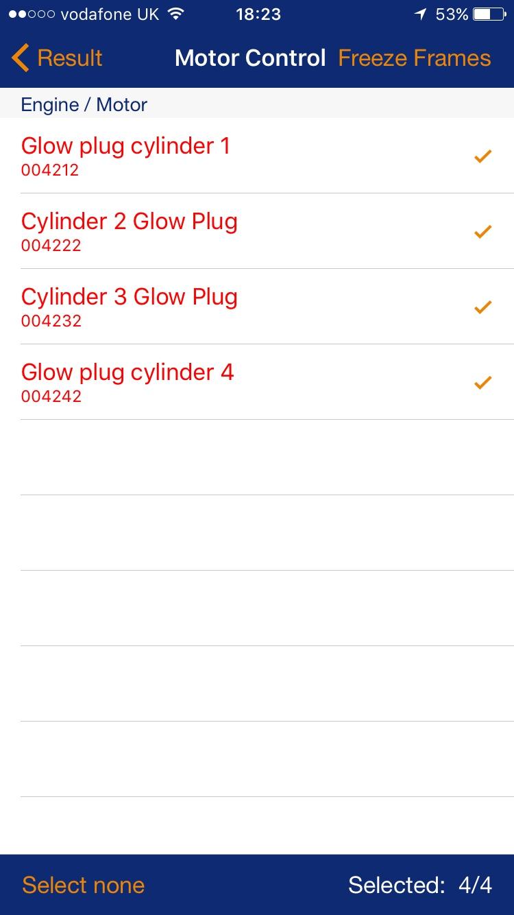 Glow Plug Fault Help Bmw F02 Fuse Box
