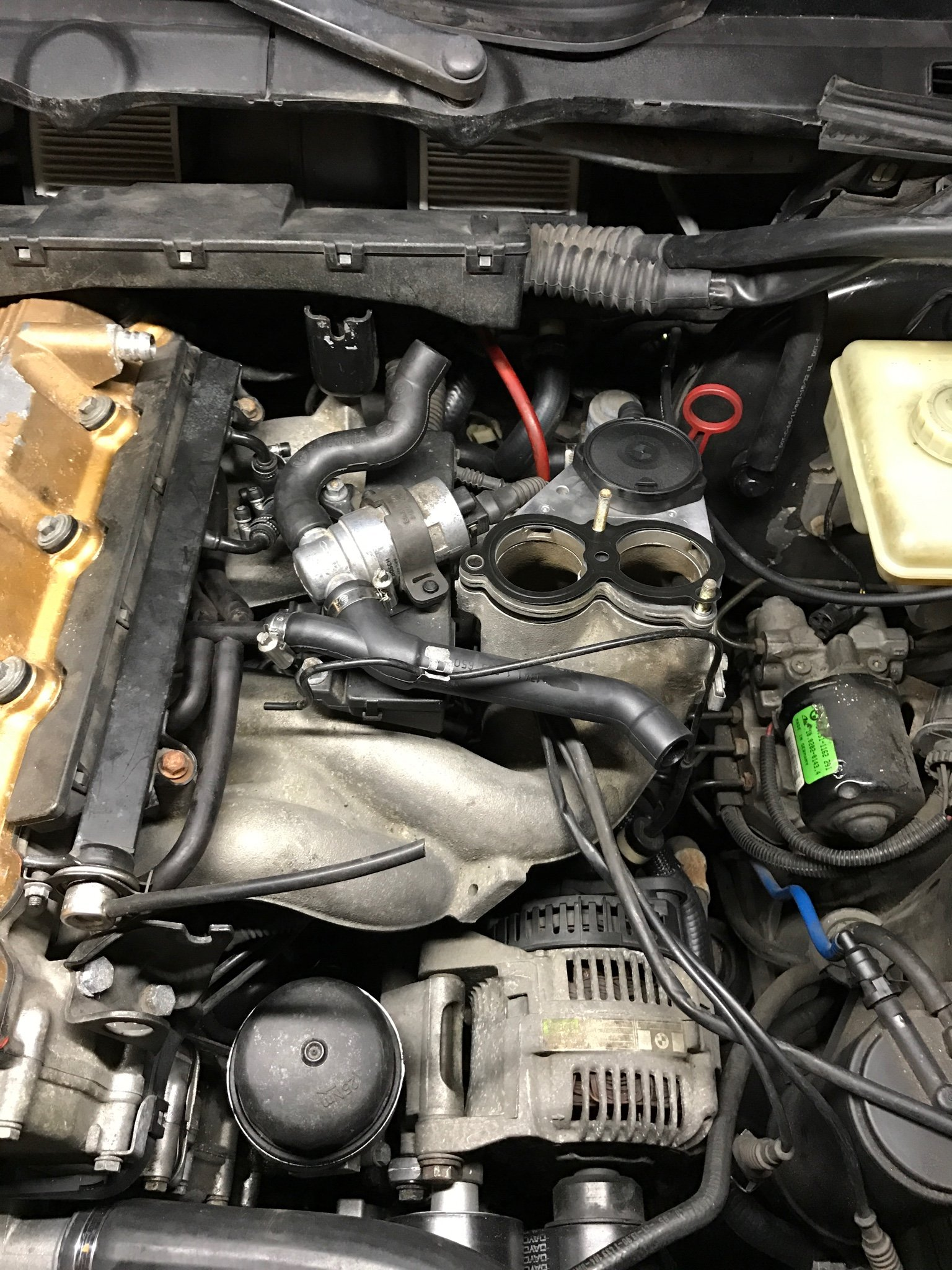 Knock sensors and mess under the intake project - 318ti.org forum318ti.org