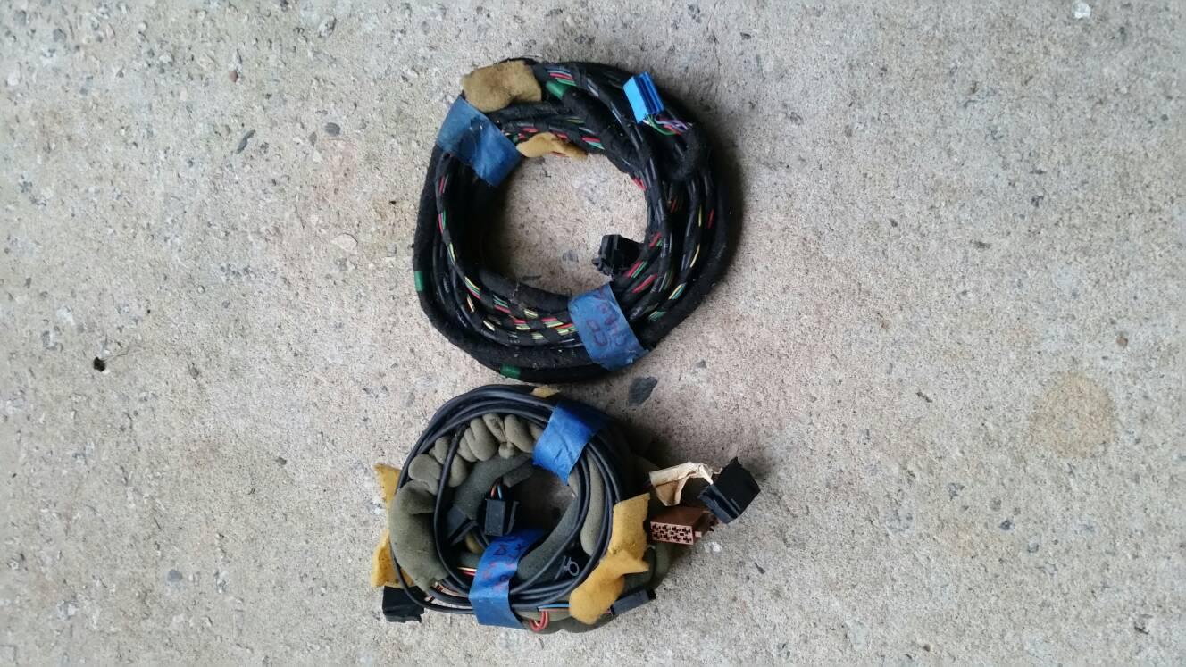 VWVortex.com - Vw OEM radio and cd changer wiring harness on vw turn signal wiring harness, vw radio removal tool, vw bus wiring harness,