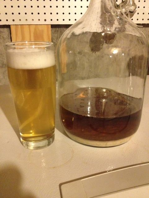 Beer darkening with oxidation