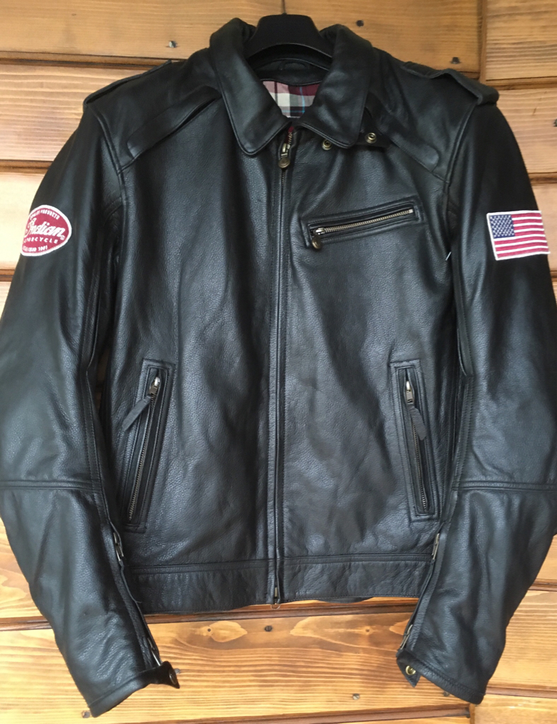 For Sale Mens Throttle Jacket Black Leather By Indian