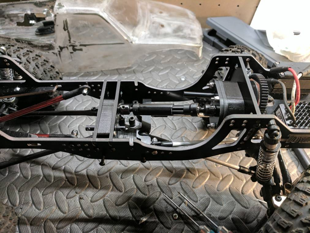 Beater with a heater build  - RCCrawler