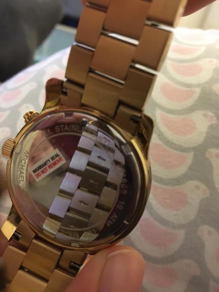 Poważnie Pytanie o autentyczność zegarka Michael Kors - Podróbki i YI67