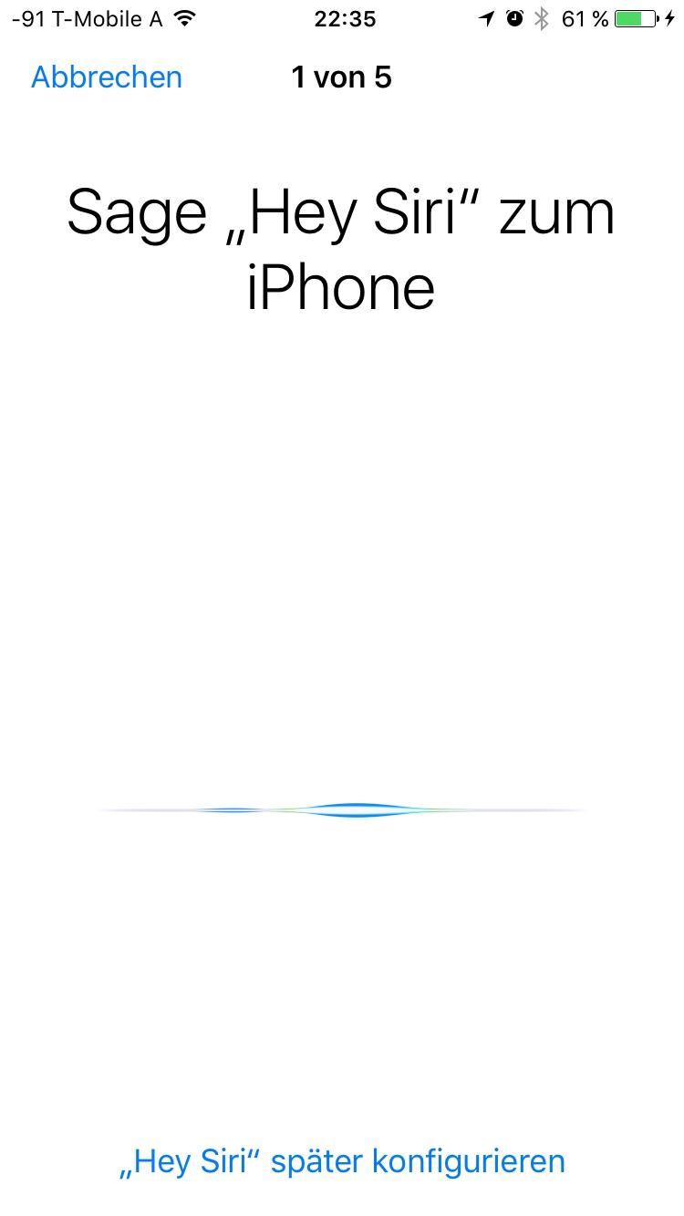 Siri Konfiguration Geht Nicht Apfeltalk