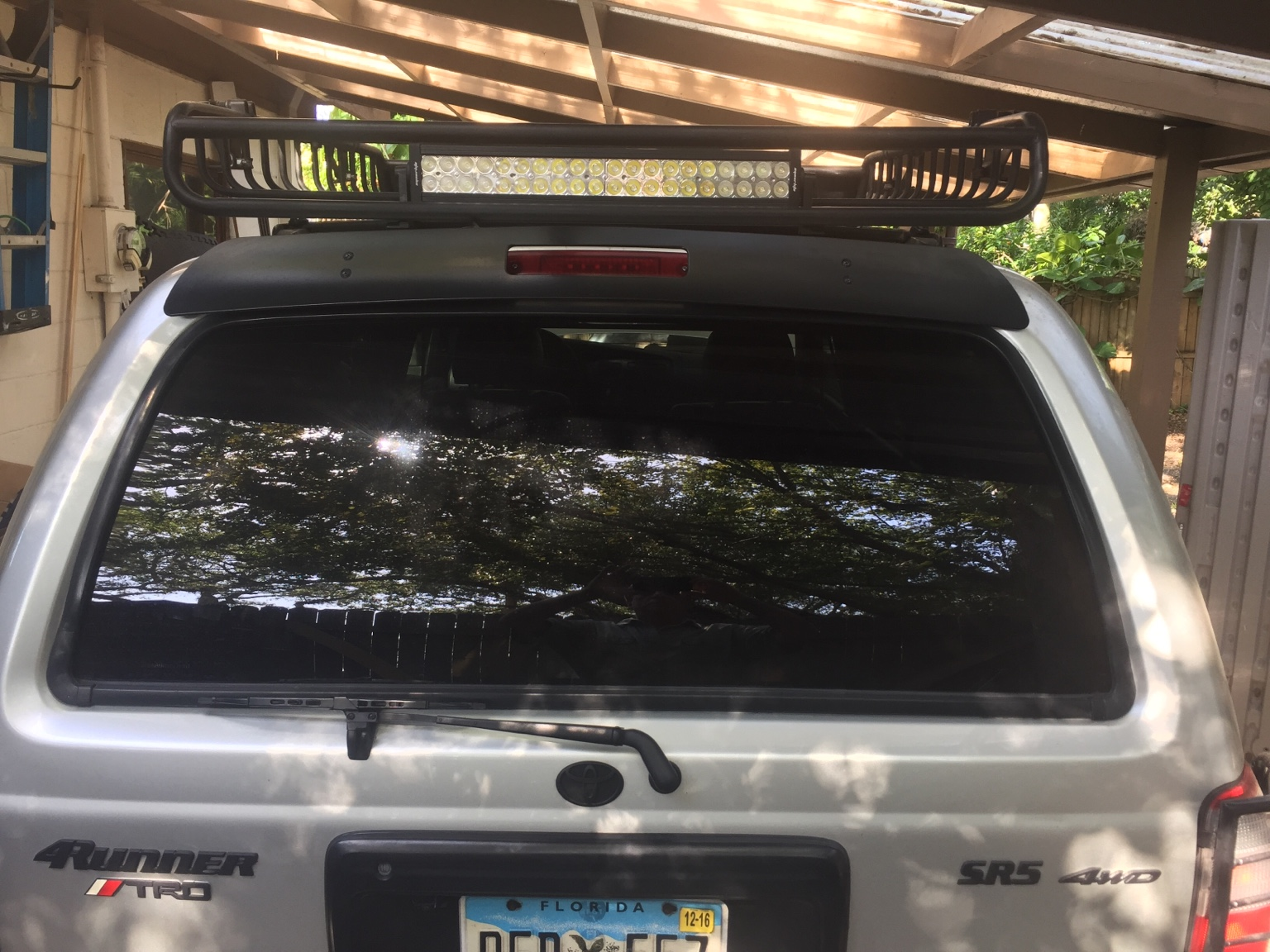 I Love My Mega Warrior Roof Rack Got It Cheap On Craigslist Also Surface  Mounted It Directly To My Roof Tracks So It Obviously Doesnu0027t Stick Up As  High ...