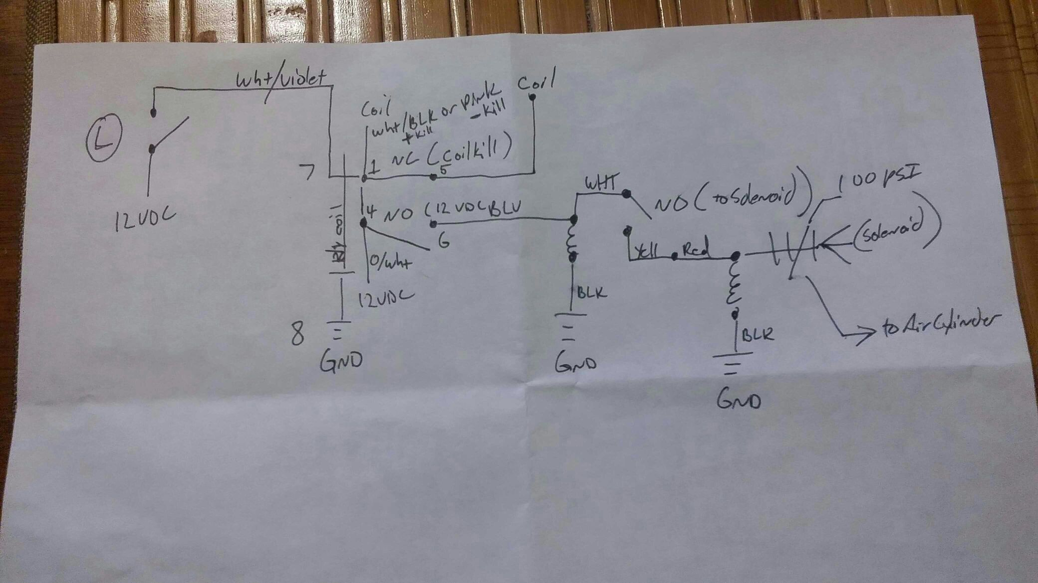 air shifter controls on the cheap [archive] the Air Horn Wiring Diagram