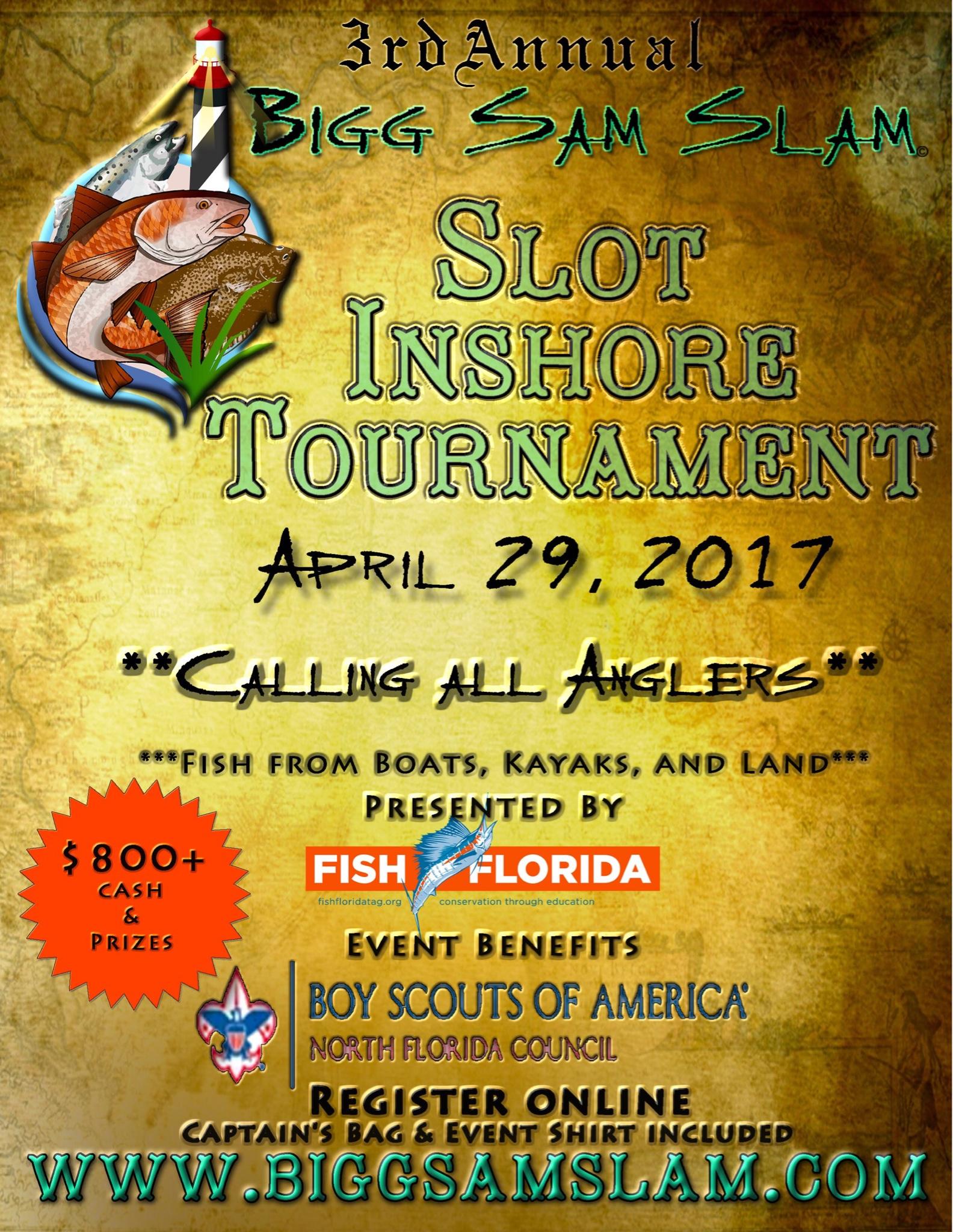 Inshore charity fishing tournament april 29th 2017 for Fishing tournaments 2017
