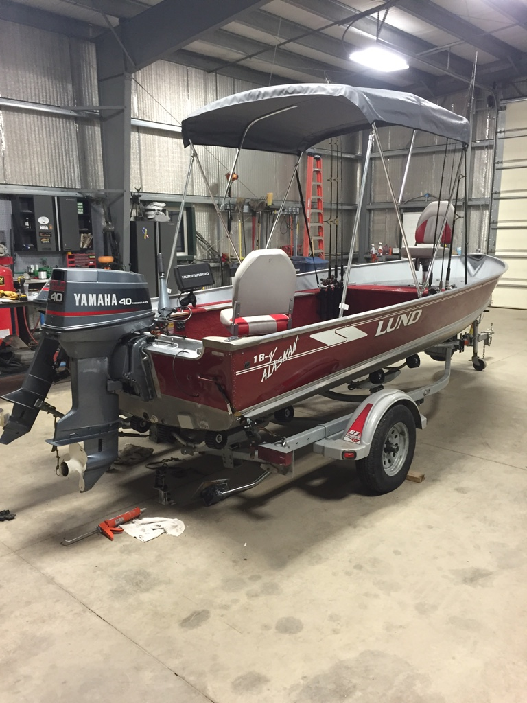 Tiller boat buying decision [Archive] - Walleye Message Central