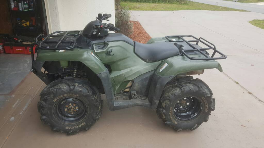 2016 rancher smoking like a chimney - Honda ATV Forum