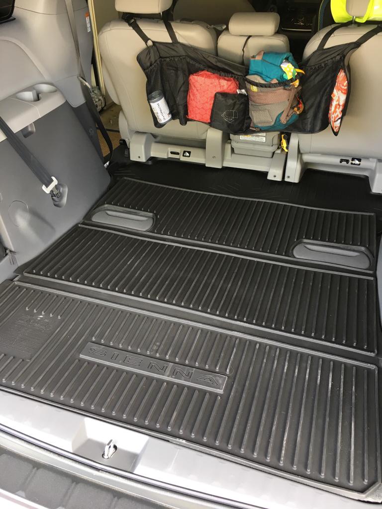 Folding Cargo Liner Oem Toyota Sienna Forum Siennachat Com