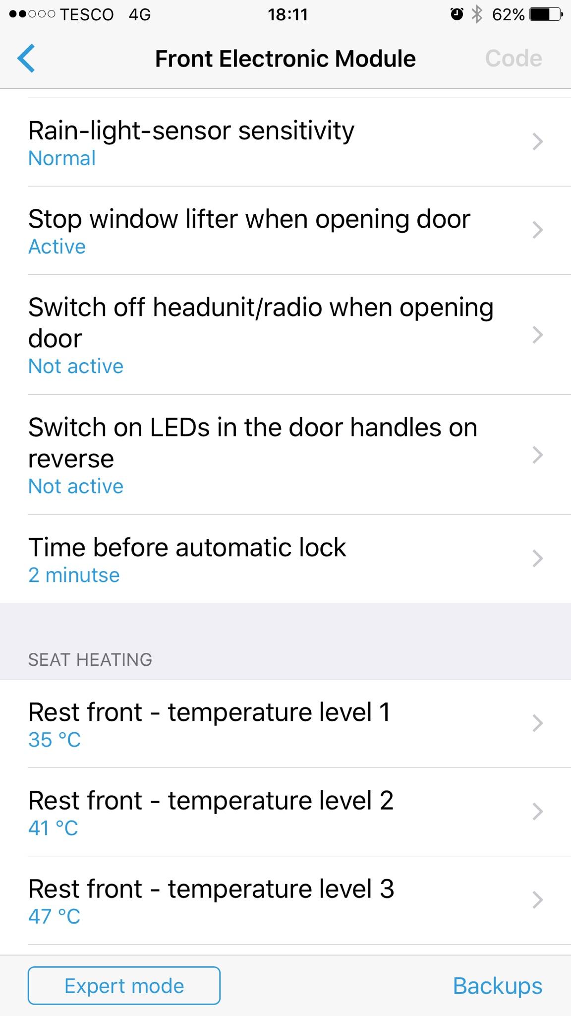 Auto light sensitivity - babybmw net