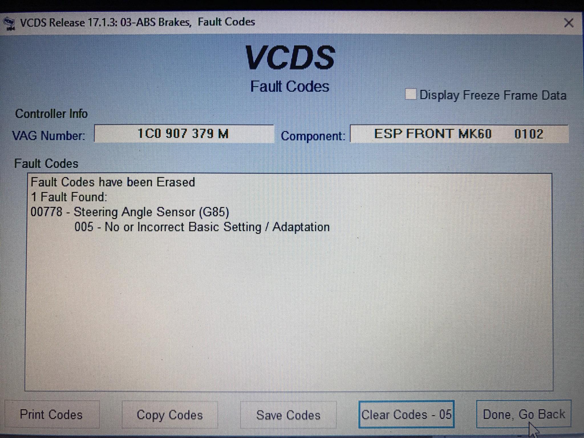 Angle sensor VR6 2 8 24V
