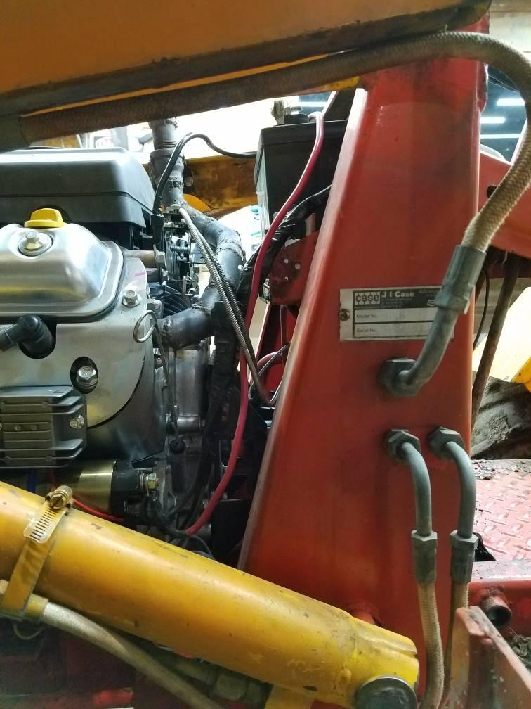 1974 Case 646 PREDATOR 22hp 670cc conversion SUCCESS!!!