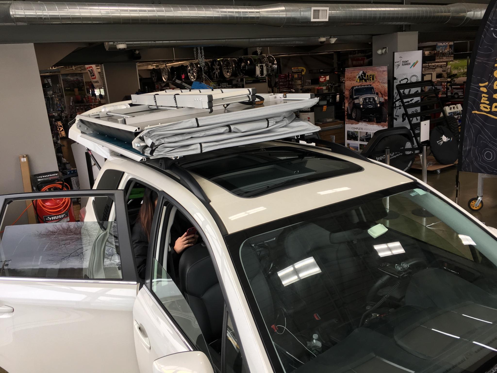 14 18 James Baroud Roof Top Tent Subaru Forester