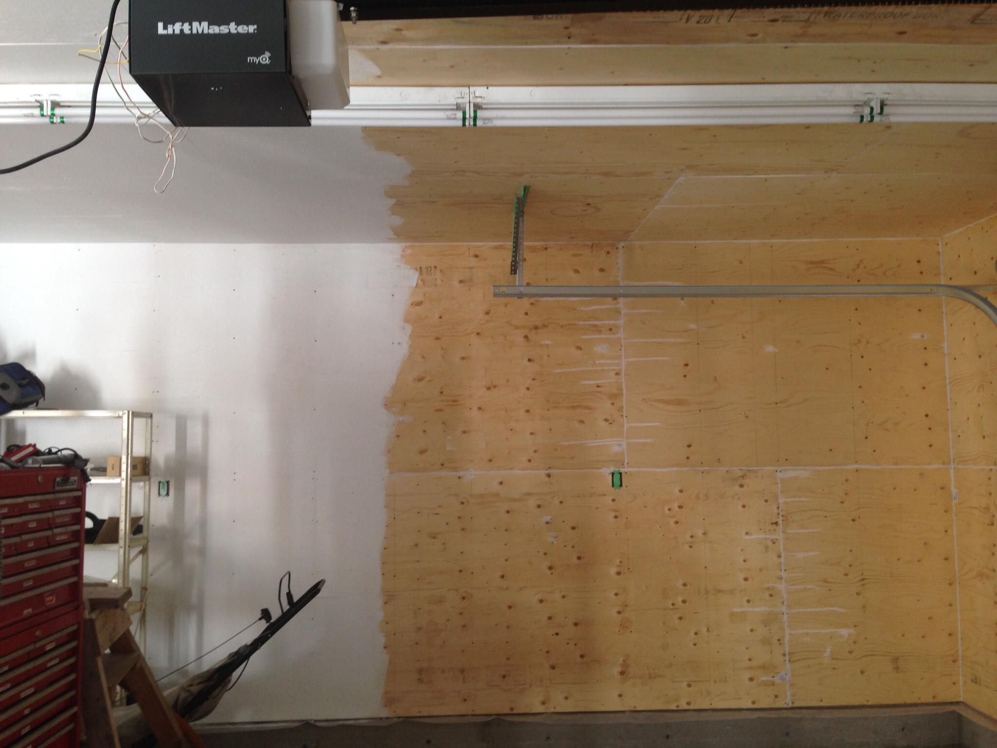 I Used 1 2 Spruce Sheathing Cheap And Looks Just Fine