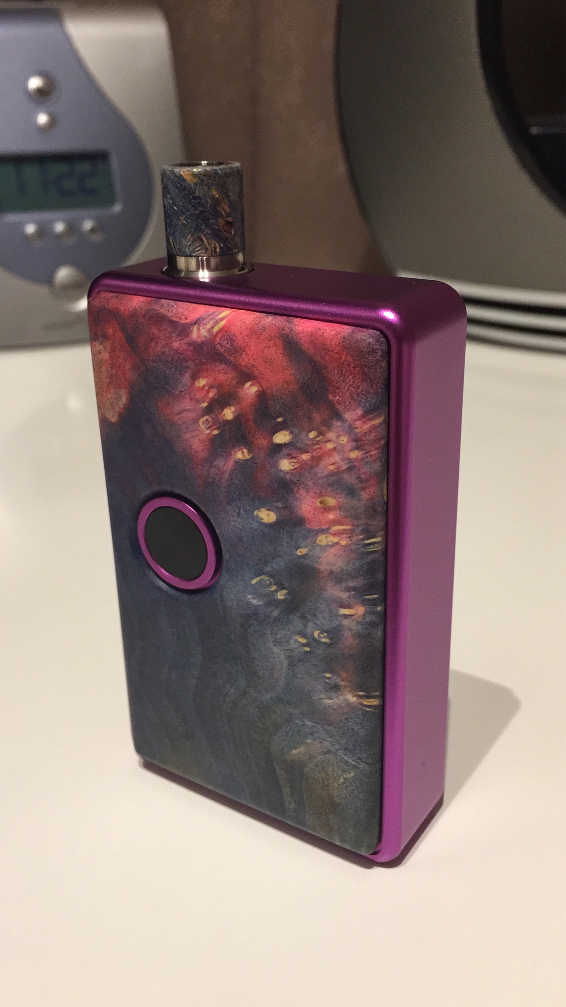 Sxk billet box with wood doors | ALL ABOUT E-CIGARETTES UK