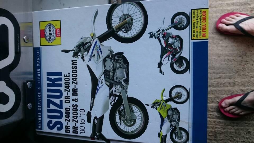 Drz 400 Haynes workshop manual - Adventure Bike Rider Forum