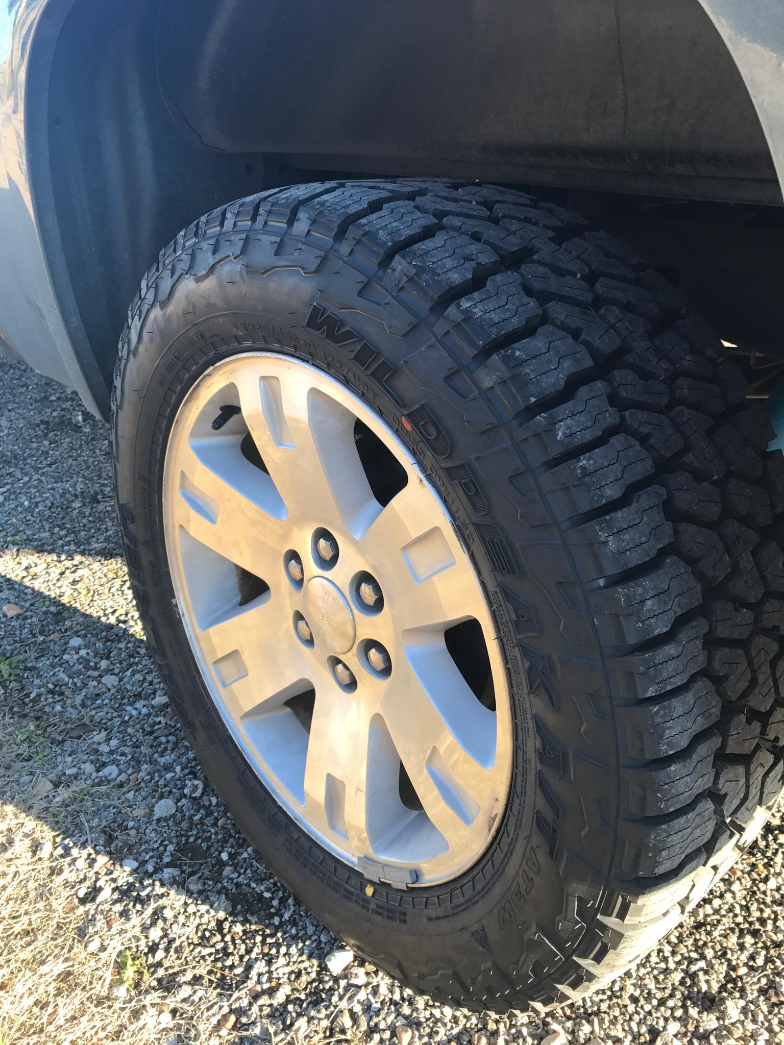 New Falken Wildpeak at3w 275/70 | Chevy Truck Forum | GMC ...