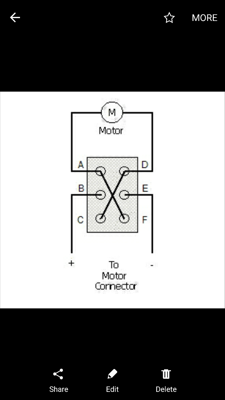 Wiring A Dc Motor For Bi Directional Use Harbor Freight Diagram Reversing Switch After Thinking About It Few Minutes I Realized Wasnt Quite So Difficult All And The Helps